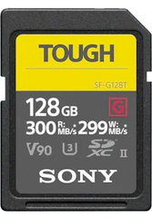 SDXC 128GB Tough Series R300/W299  UHS-II