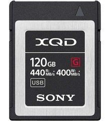 XQD120GB Card R440MB/sW400MB/s