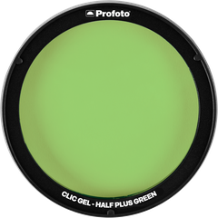 Clic Gel Half Plus Green