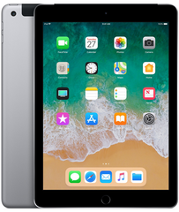 iPad 128GB WiFi/LTE Space Grau