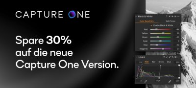 CAPTURE ONE Black Friday & Cyber Monday Offer