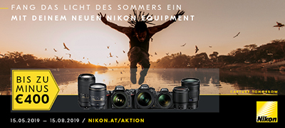 NIKON SOFORTRABATT Aktion