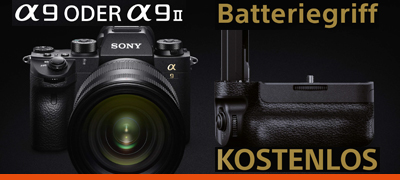SONY Alpha 9 Batteriegriff Aktion