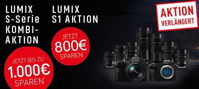 PANASONIC LUMIX S1 Aktion