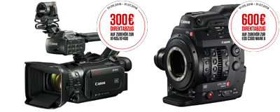 CANON ProVideo Zubehör Promotion 2018