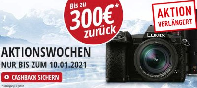 PANASONIC Cashback Aktion