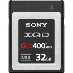 XQD 32GB Card 400MB/s